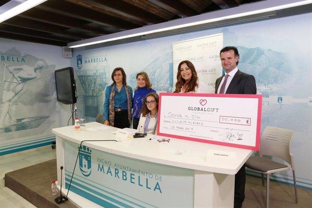 Málaga.- La Fundación Global Gift recauda 50.000 euros en una gala en Dubái a be