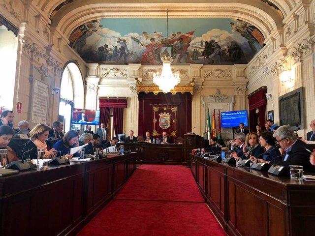 Málaga.-Pleno aprueba conceder la Medalla de la Ciudad a Porfirio Smerdou y el t