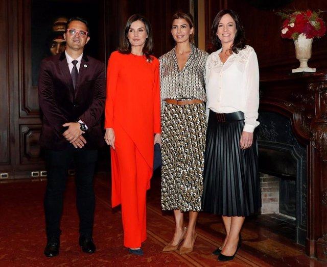La reina Letizia se reúne con la Alianza Iberoamericana de Enfermedades Raras en