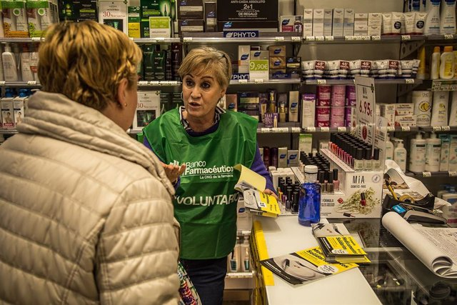Banco Farmacéutico busca 600 voluntarios para colaborar en su XII Campaña de Med