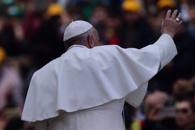 Pope Francis weekly general audience in Vatican