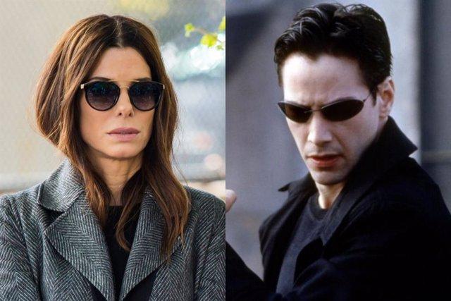 Sandra Bullock estuvo a punto de ser Neo en Matrix