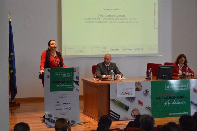 Fwd: Ndp: Crecimiento Como Valor En El Ii Congreso Agroalimentario De Andalucía