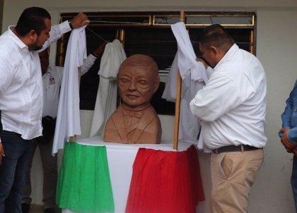 El Ecce Homo mexicano es un busto de Benito Juárez en San Antonio, según las redes sociales