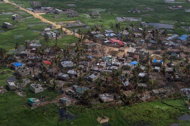 Tropical cyclone Idai in Mozambique