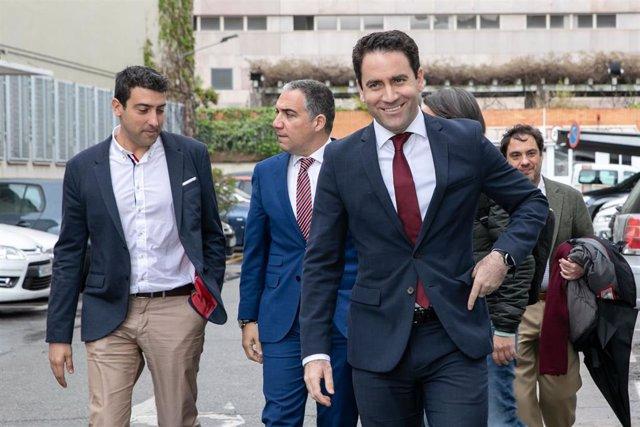 García Egea dice que Casado lidera el constitucionalismo con acuerdos como UPN-P