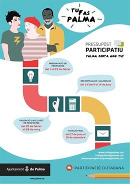 Cort anuncia les 42 propostes ciutadanes a finanar amb 1,5 milions de presup