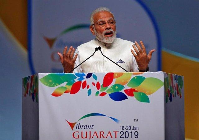 """India.- Modi promete """"una nueva India"""" en el lanzamiento de su campaña para busc"""