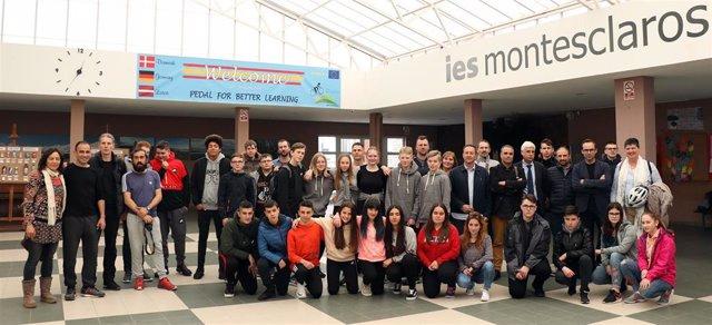 FOTO El IES Montesclaros de Reinosa participa en un proyecto europeo para foment