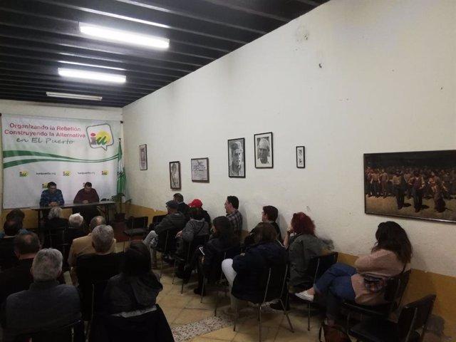 Cádiz.- IU da de plazo hasta el lunes al alcalde de El Puerto para que dimita an