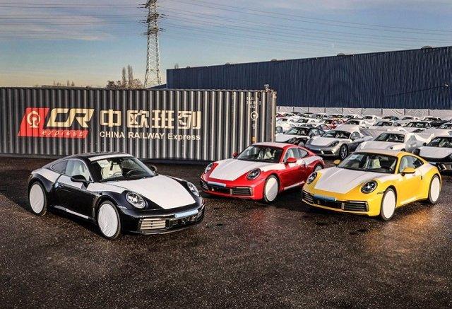 Economía/Motor.- Porsche reemplaza el transporte marítimo por el ferroviario par