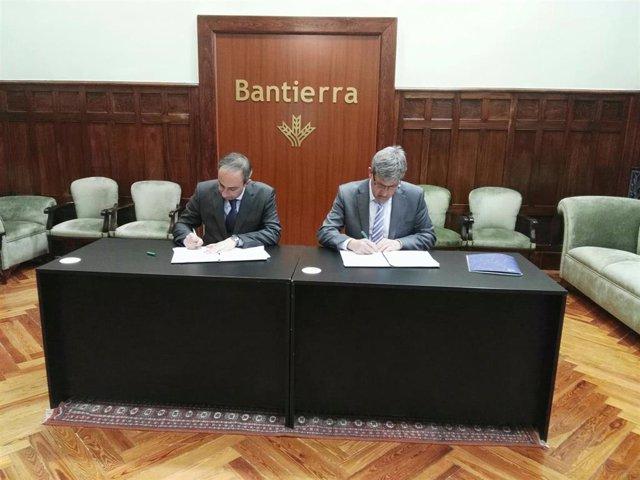 Bantierra y los industriales de la Ribera Baja del Ebro fomentan el el emprendim