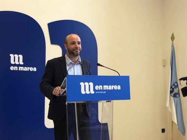 """28A.- El portavoz de En Marea dice que el partido está """"más cohesionado que nunc"""