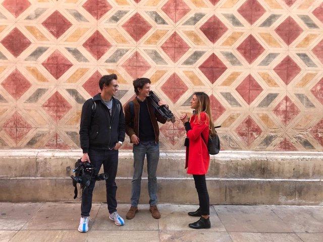 Málaga.- Málaga acoge la grabación de un reportaje para el telediario de la tele