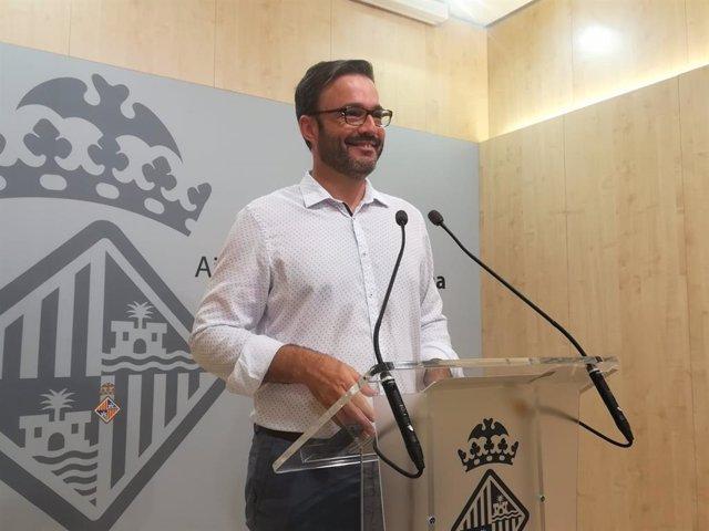 El regidor de Urbanismo y Vivienda Digna, José Hila