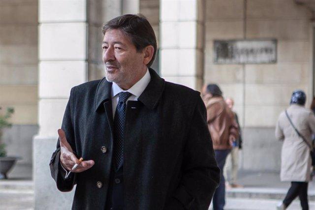 Manuel Chaves González, expresidente de la Junta. asiste a la sesión del juicio