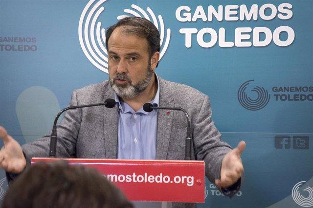 Mateo amenaza con dejar la candidatura a la Alcaldía de Toledo si IU y Podemos n