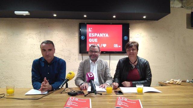 """28A.- El PSIB Es Fixa Com a Objectiu """"Consolidar"""" La Part Fiscal Del REB En Ener"""