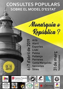 Un total d'onze municipis de Mallorca celebraran consultes simbòliques sobre Mo