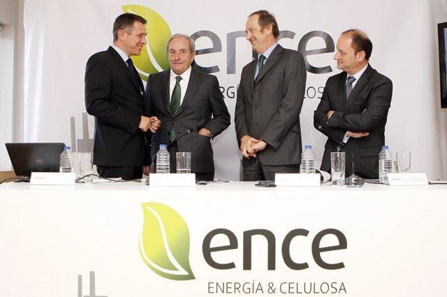 Economía.- Ence financia la compra del 90% de la planta termosolar de Puertollan