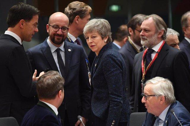 La UE dará a Londres hasta el 12 de abril para decidir si quiere Brexit caótico