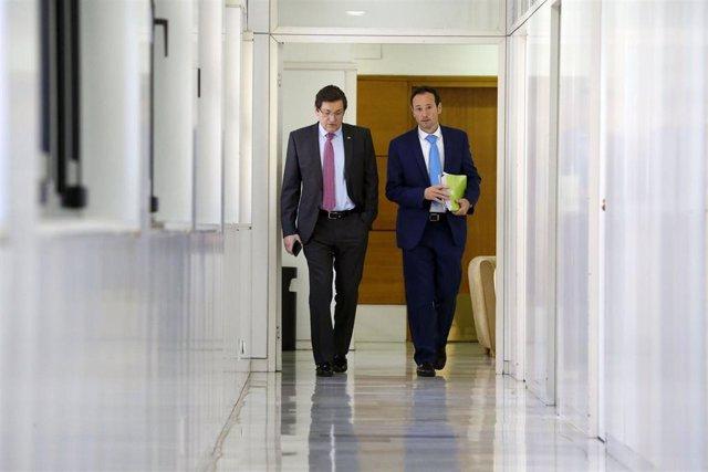 """Pleno.- Javier Fernández la legislatura que termina ha sido """"esperanzadora en lo"""