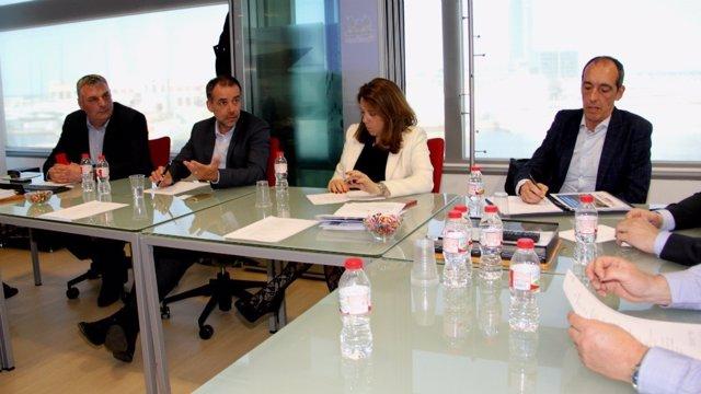 El Puerto de Barcelona y el de Bayona estudian crear nuevas cadenas logísticas i