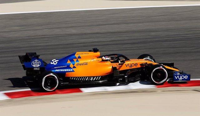 Fórmula 1/GP Baréin.- (Previa) Sainz marca un esperanzador séptimo puesto bajo e