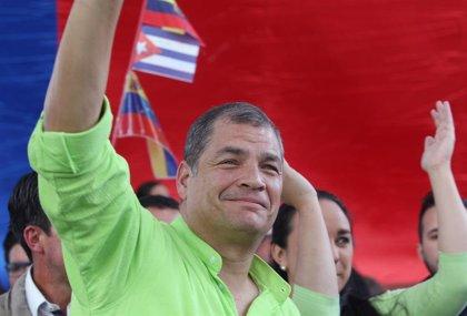 """Rafael Correa: No me dejan regresar porque saben que, si pudiera ser candidato para presidente, les gano de nuevo"""""""