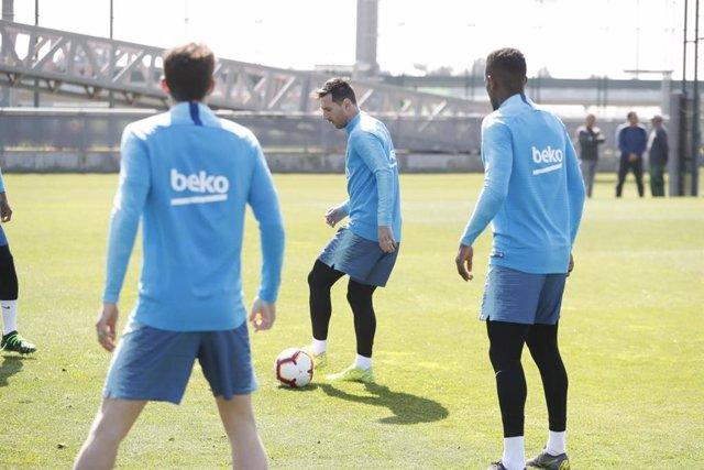 """Fútbol.- Valverde: """"Messi tuvo un pequeño problema, nada más"""""""