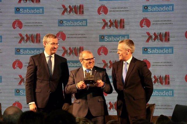 La empresa Esergui-Avia de San Sebastián es reconocida como Empresa del año por