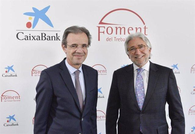 CaixaBank y Fomento del Trabajo acuerdan una nueva línea de financiación de 2.00