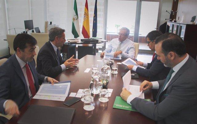 Economía.- La Junta traslada a Andalucía Aerospace su apuesta por potenciar a la