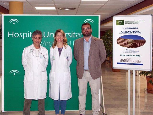 Sevilla.- Unos 250 sanitarios se forman en atención inicial de quemaduras en un
