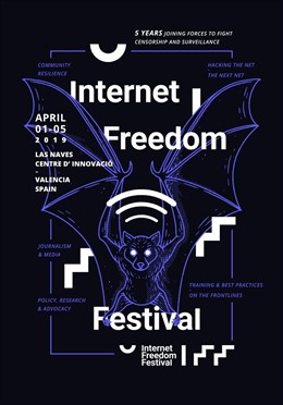 """Más de mil activistas """"de todo el mundo"""" defenderán la libertad digital en Valn"""