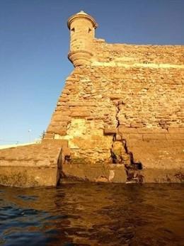 Cádiz.- El Gobierno aprueba obras de emergencia en las murallas del Castillo de
