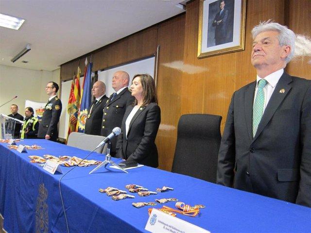 La delegada del Gobierno se felicita por el 40 aniversario de incorporación de l