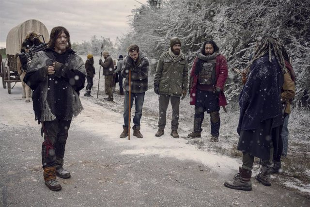 La tormenta sacude el final de la 9º temporada de The Walking Dead en AMC