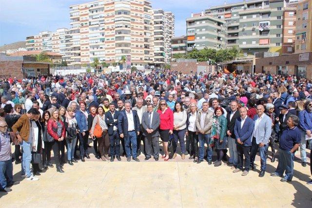 Granada.- Regantes, instituciones y partidos reclaman en una concentración las c