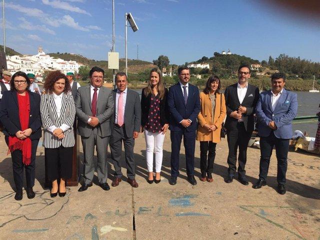 """Huelva.- Junta destaca la convivencia fronteriza entre Huelva y Portugal como """"c"""