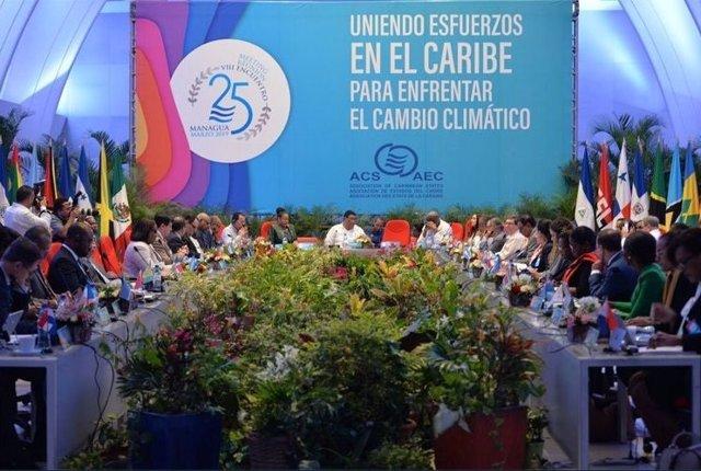 """La Cumbre de la AEC en Nicaragua llama a """"la paz, la unidad y el desarrollo sost"""