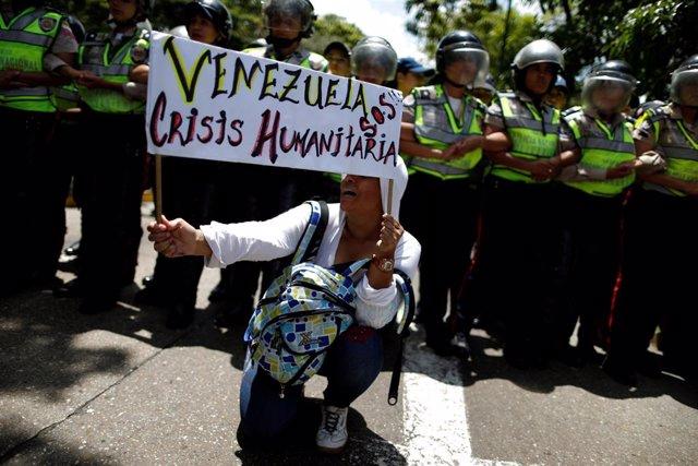 """Venezuela.- Cruz Roja lanzará en Venezuela una operación humanitaria """"similar a"""