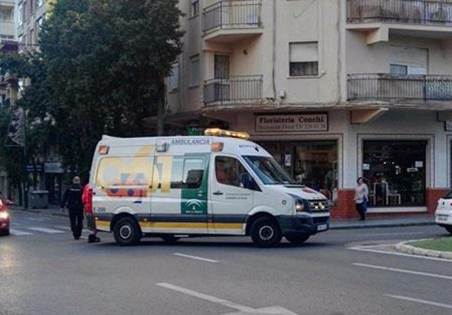 Ambulancia, calle, Málaga