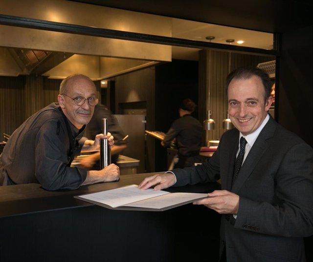 Xavier Sagristà revisa la cuina tradicional de l'Empordà as Castell de Perala