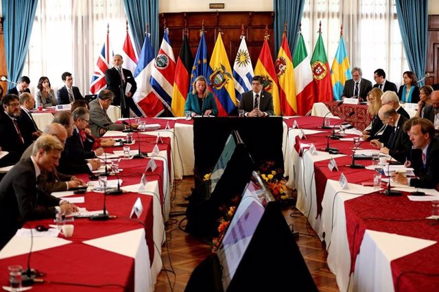 "El Grupo de Contacto sobre Venezuela urge a convocar ""elecciones"" y a mantener l"
