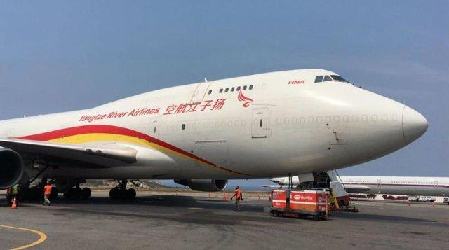 Venezuela recibe 65 toneladas de ayuda médica procedentes de China