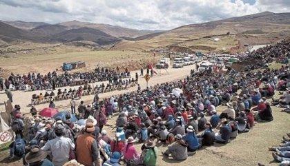 Perú libera al dirigente de los comuneros de Fuerabamba Gregorio Rojas