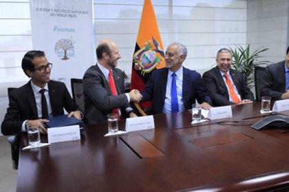 Dos empresas mineras de Ecuador y Chile crean una sociedad para desarrollar un proyecto de cobre
