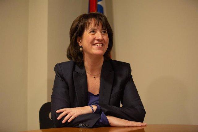 Retrats de la presidenta de l'Assemblea Nacional Catalana (ANC), Elisenda Paluz