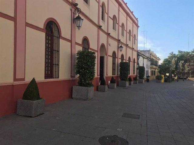 Sevilla.- Financiación europea para la rampa de acceso al Ayuntamiento de Alcalá